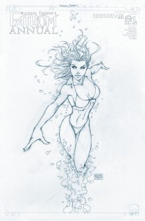 FATHOM ANNUAL #1 COVER B