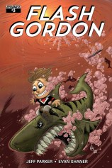 FLASH GORDON #3 SUB COVER