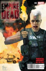 GEORGE ROMERO'S EMPIRE OF THE DEAD ACT ONE #5