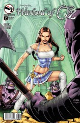 GRIMM FAIRY TALES WARLORD OF OZ COVER A
