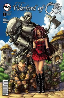 GRIMM FAIRY TALES WARLORD OF OZ COVER B