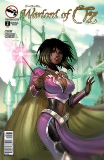 GRIMM FAIRY TALES WARLORD OF OZ COVER C