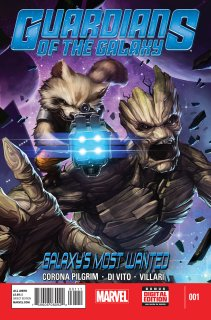 GUARDIANS OF THE GALAXY GALAXY'S MOST WANTED #1