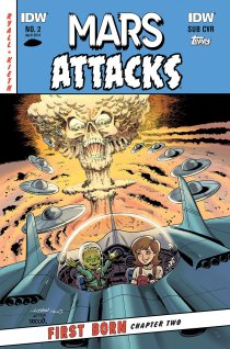 MARS ATTACKS FIRST BORN #2 SUB COVER