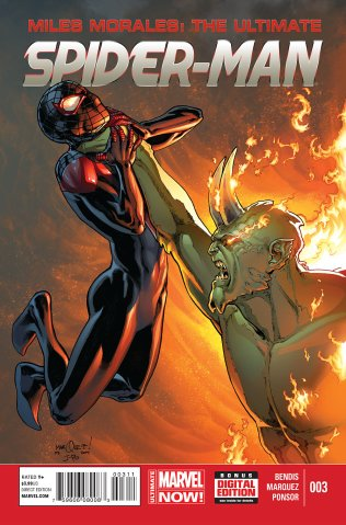 MILES MORALES ULTIMATE SPIDER-MAN #3