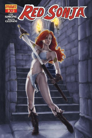 RED SONJA #10 SOHN COVER