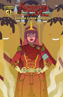 ADVENTURE TIME BANANA GUARD ACADEMY #1 COVER A