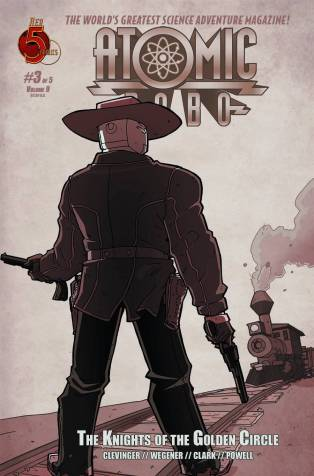 ATOMIC ROBO KNIGHTS OF THE GOLDEN CIRCLE #3