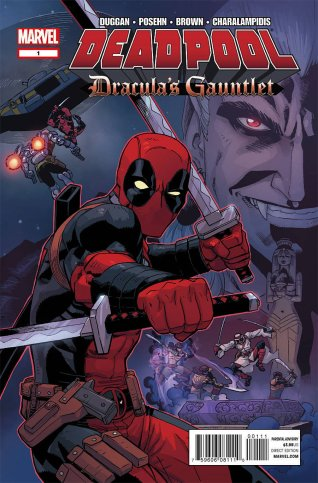 DEADPOOL DRACULA'S GAUNTLET #1
