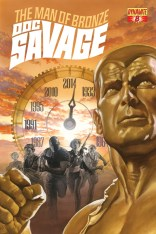 DOC SAVAGE #8 ROSS COVER