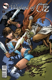 GRIMM FAIRY TALES WARLORD OF OZ #3 COVER A