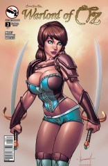 GRIMM FAIRY TALES WARLORD OF OZ #3 COVER C