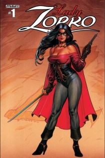 LADY ZORRO #1 LINSNER COVER