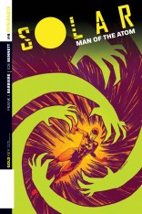 SOLAR MAN OF THE ATOM #4 BROWN COVER