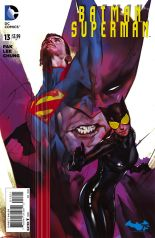 BATMAN SUPERMAN #13 VARIANT B