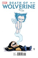 DEATH OF WOLVERINE #1 VARIANT F