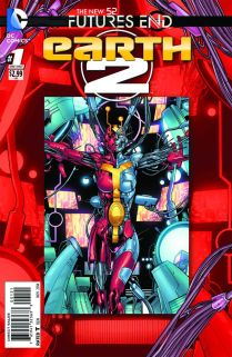 EARTH 2 FUTURES END #1 STANDARD COVER