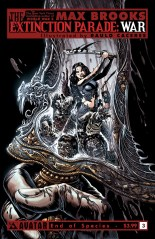 EXTINCTION PARADE WAR #3 END OF SPECIES COVER
