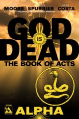 GOD IS DEAD THE BOOK OF ACTS ALPHA DIVINE COVER