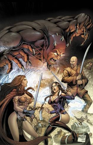 GRIMM FAIRY TALES #101 COVER D
