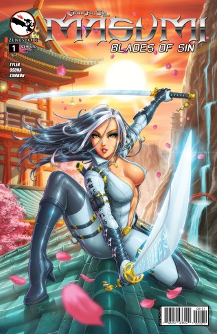 GRIMM FAIRY TALES MASUMI BLADES OF SIN #1 COVER C