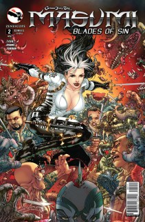 GRIMM FAIRY TALES MASUMI BLADES OF SIN #2 COVER A