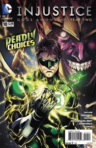 INJUSTICE GODS AMONG US YEAR TWO #10