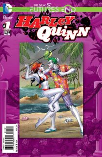 HARLEY QUINN FUTURES END #1 STANDARD COVER