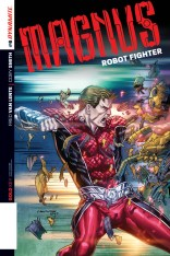 MAGNUS ROBOT FIGHTER #6 SMITH COVER