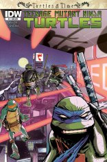 TMNT TURTLES IN TIME #4 SUB COVER