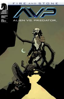 ALIEN VS. PEDATOR FIRE AND STONE #1 VARIANT