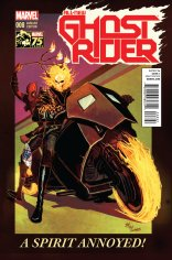ALL-NEW GHOSTRIDER #8 VARIANT