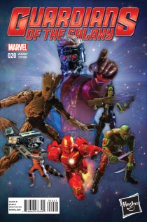 GUARDIANS OF THE GALAXY #20 VARIANT A