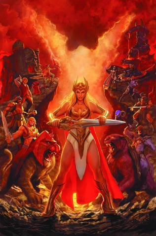 HE MAN AND THE MASTERS OF THE UNIVERSE #18