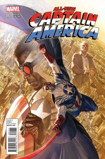 ALL-NEW CAPTAIN AMERICA #1 VARIANT D