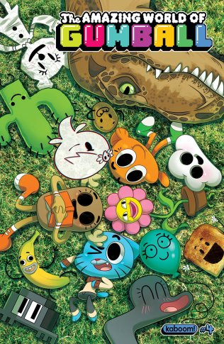 AMAZING WORLD OF GUMBALL #4 COVER A