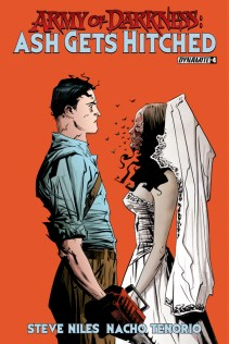 ARMY OF DARKNESS ASH GETS HITCHED #4 LEE COVER