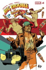 BIG TROUBLE IN LITTLE CHINA #6 COVER A