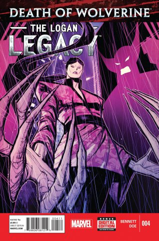 DEATH OF WOLVERINE THE LOGAN LEGACY #4
