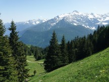 alta leventina hiking trails offer greta views