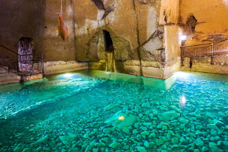 Acquedotto greco-romano Napoli Sotterranea