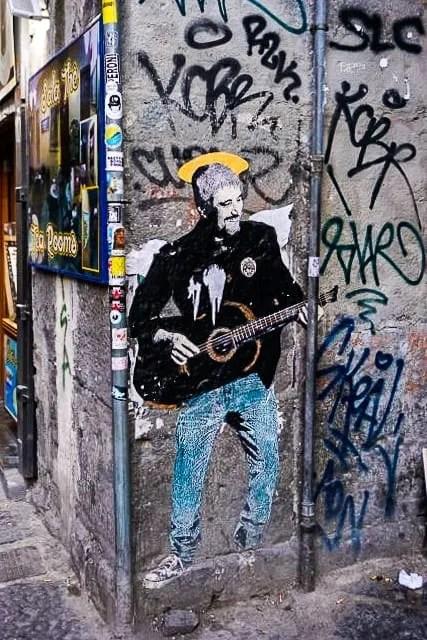 Pino Daniele murales Napoli