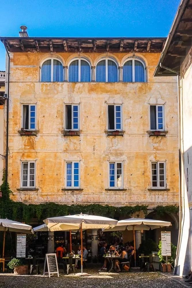 Piazza Motta Orta San Giulio