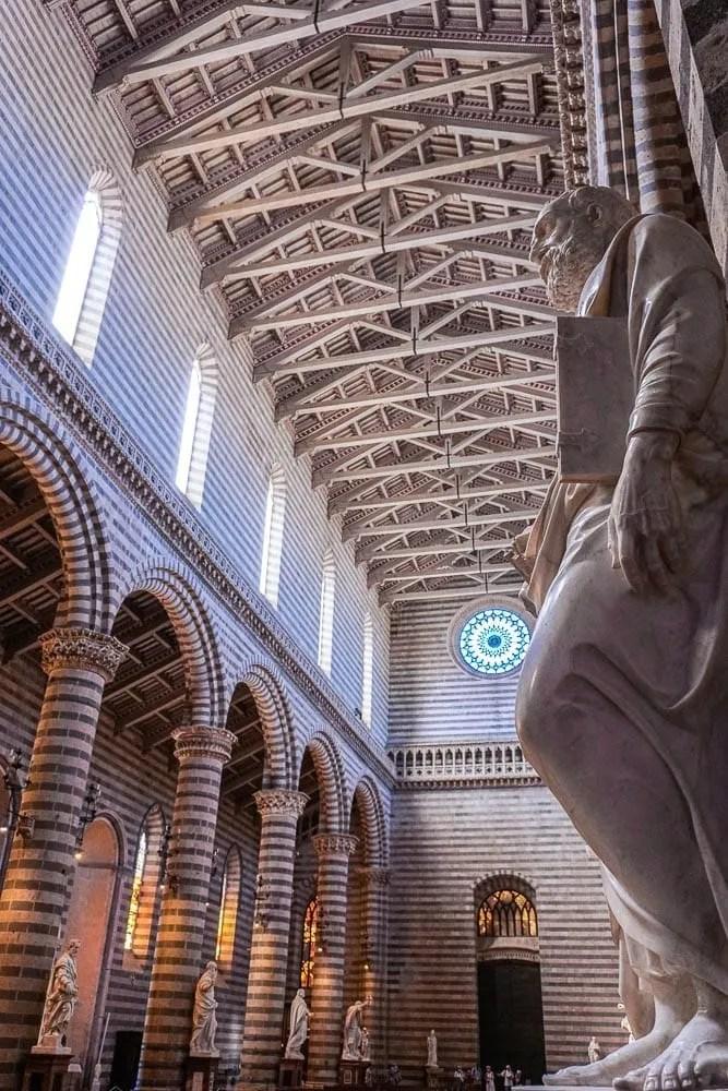 Curiosità interno Duomo di Orvieto