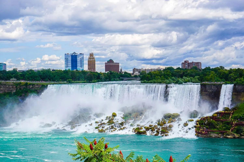 Cascate del Niagara da Toronto