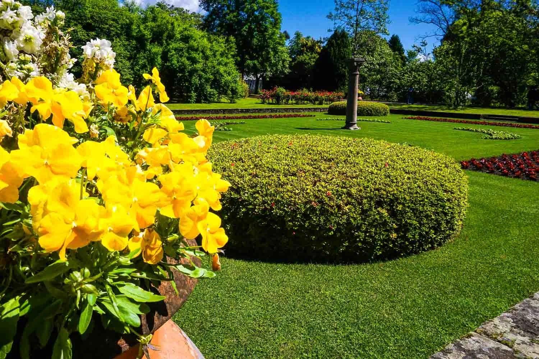 Giardini all'italiana villa taranto