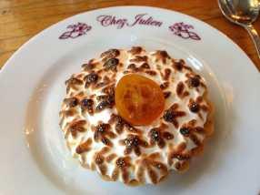Amazing tarte at Chez Julien