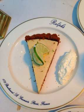 Key Lime Pie at Ralphs...sublime
