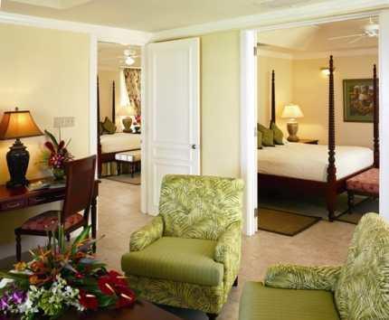 HalfMoon A RockResort Hibiscus two Bedroom SuiteL