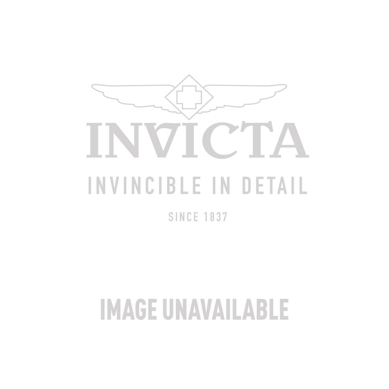 Invicta Reserve Slim Mens 44mm Titanium Case, Rose Gold